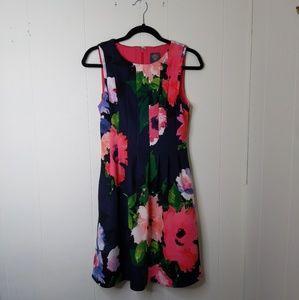 Vince Camuto floral semi formal dress